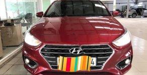 Bán ô tô Hyundai Accent 1.4MT năm 2018, màu đỏ số sàn giá 450 triệu tại Tp.HCM