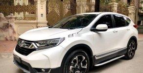 Cần bán lại xe Honda CR V G 1.5Turbo sản xuất năm 2019, màu trắng giá 1 tỷ 5 tr tại Hà Nội