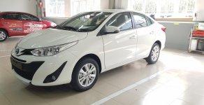 Bán xe khu vực TP. Hồ Chí Minh: Toyota Vios 1.5G CVT đời 2020, màu trắng, giá chỉ 570 triệu giá 570 triệu tại Tp.HCM