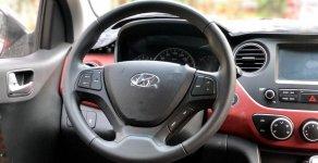 Cần bán gấp Hyundai Grand i10 1.2AT sản xuất năm 2019, màu bạc giá cạnh tranh giá 396 triệu tại Hà Nội