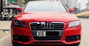 Cần bán lại xe Audi A4 sản xuất năm 2009, màu đỏ, xe nhập, giá 485tr giá 485 triệu tại Hà Nội