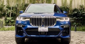 BMW X7 Xdriver40i M sport  2020, màu xanh nội thất kem rất sang trọng - call 0979.87.88.89 giá 6 tỷ 999 tr tại Hà Nội
