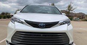 Toyota Siena Platinum Hybrid 2021, màu trắng, xe nhập Mỹ - giao ngay giá 4 tỷ 300 tr tại Hà Nội